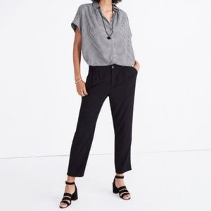 Madewell Track Trousers - True Black